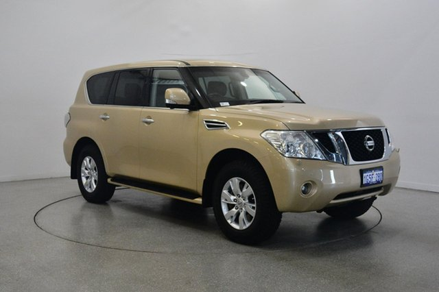 Used Nissan Patrol Y62 MY15 TI-L, 2015 Nissan Patrol Y62 MY15 TI-L Gold 7 Speed Sports Automatic Wagon