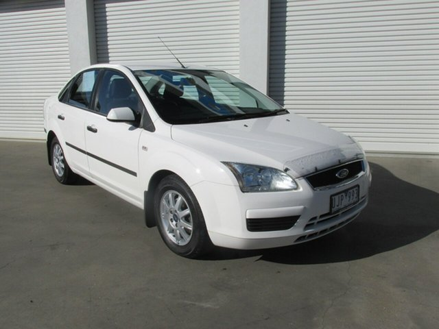 Used Ford Focus LS CL, 2006 Ford Focus LS CL White 4 Speed Sports Automatic Sedan