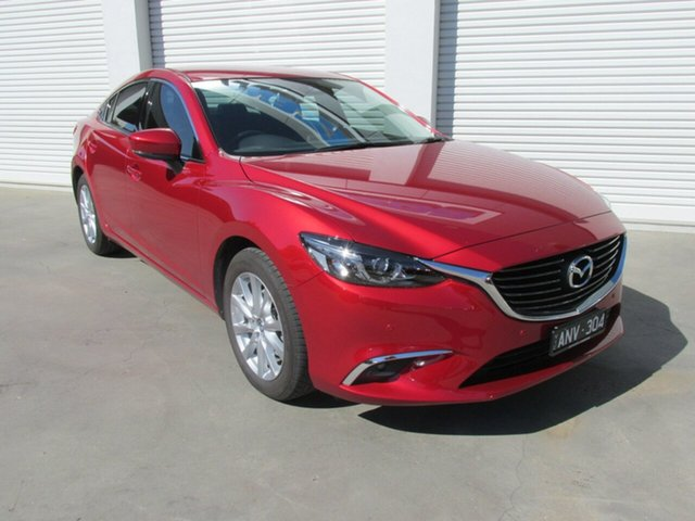 Used Mazda 6 GL1031 Touring SKYACTIV-Drive, 2017 Mazda 6 GL1031 Touring SKYACTIV-Drive Red 6 Speed Sports Automatic Sedan