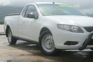 2010 Ford Falcon FG Ute Super Cab White 5 Speed Automatic Utility.