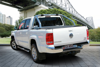 2012 Volkswagen Amarok 2H MY12.5 TDI400 4Mot Highline White 6 Speed Manual Utility.