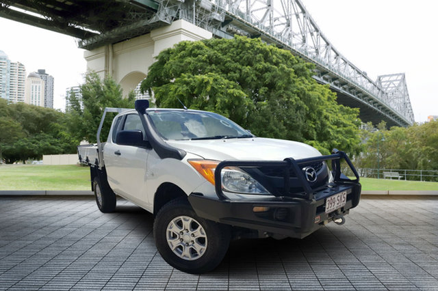 Used Mazda BT-50 UP0YF1 XT 4x2 Hi-Rider, 2012 Mazda BT-50 UP0YF1 XT 4x2 Hi-Rider White 6 Speed Sports Automatic Utility