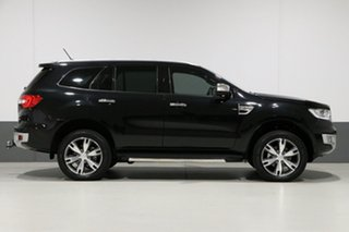 2017 Ford Everest UA MY17.5 Titanium (4WD) Black 6 Speed Automatic Wagon