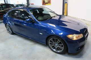 2011 BMW 320d E90 MY1011 Lifestyle Steptronic Blue 6 Speed Sports Automatic Sedan