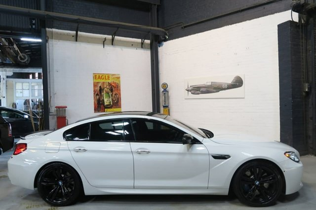 Used BMW M6 F06M Gran Coupe M-DCT, 2013 BMW M6 F06M Gran Coupe M-DCT White 7 Speed Sports Automatic Dual Clutch Sedan