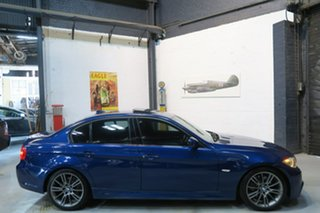 2011 BMW 320d E90 MY1011 Lifestyle Steptronic Blue 6 Speed Sports Automatic Sedan.