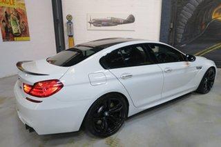 2013 BMW M6 F06M Gran Coupe M-DCT White 7 Speed Sports Automatic Dual Clutch Sedan