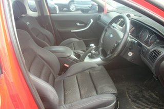 2007 Ford Falcon BF Mk II XR8 Ute Super Cab Red 6 Speed Manual Utility