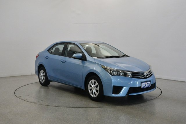 Used Toyota Corolla ZRE172R Ascent S-CVT, 2016 Toyota Corolla ZRE172R Ascent S-CVT Blue 7 Speed Constant Variable Sedan