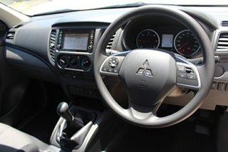 2018 Mitsubishi Triton MQ MY18 GLX 4x2 White 6 Speed Manual Cab Chassis