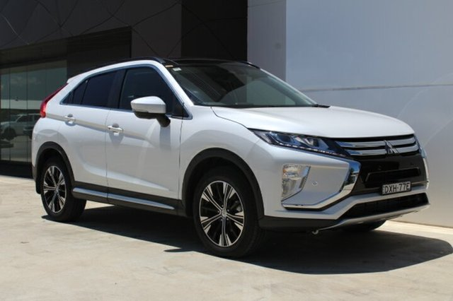 Demo Mitsubishi Eclipse Cross YA MY18 Exceed AWD, 2018 Mitsubishi Eclipse Cross YA MY18 Exceed AWD Starlight 8 Speed Constant Variable Wagon