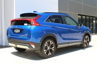 2018 Mitsubishi Eclipse Cross YA MY18 Exceed AWD Lightning Blue 8 Speed Constant Variable Wagon.