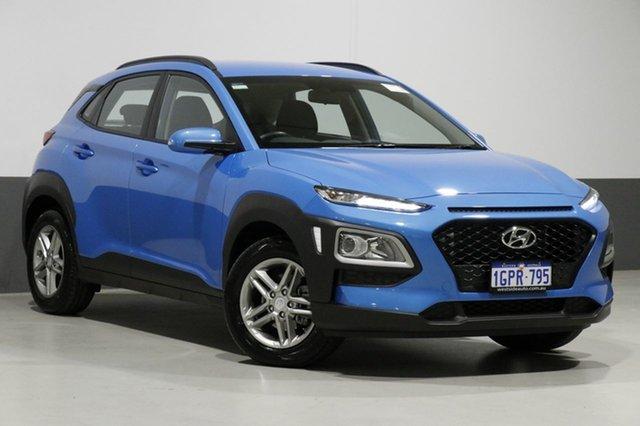 Used Hyundai Kona OS.2 MY19 Active (FWD), 2018 Hyundai Kona OS.2 MY19 Active (FWD) Blue 6 Speed Automatic Wagon