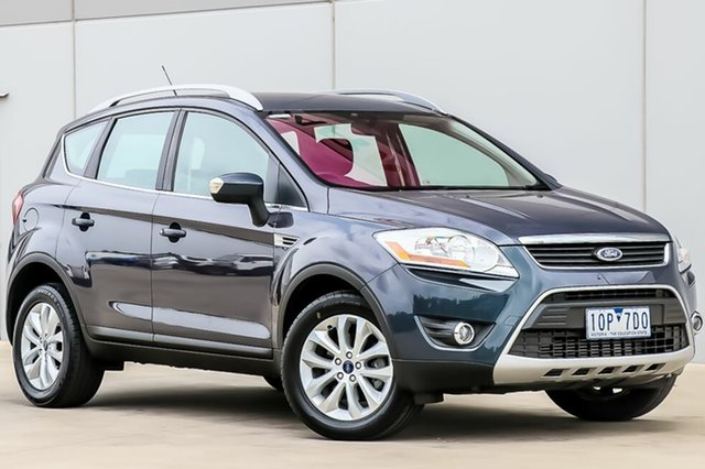 Used Ford Kuga TE Trend AWD, 2012 Ford Kuga TE Trend AWD Midnight Sky 5 Speed Sports Automatic Wagon