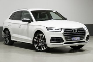 2017 Audi SQ5 FY MY18 3.0 TFSI Quattro White 8 Speed Automatic Tiptronic Wagon.