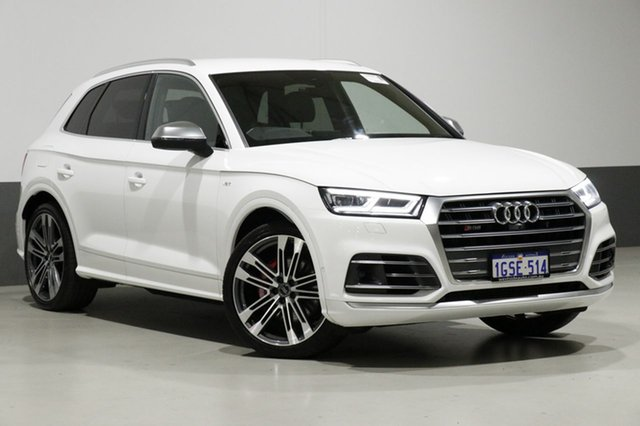 Used Audi SQ5 FY MY18 3.0 TFSI Quattro, 2017 Audi SQ5 FY MY18 3.0 TFSI Quattro White 8 Speed Automatic Tiptronic Wagon