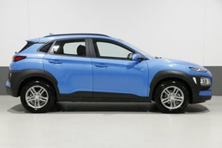 2018 Hyundai Kona OS.2 MY19 Active (FWD) Blue 6 Speed Automatic Wagon