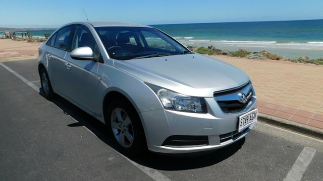 Used Holden Cruze JG CD, 2010 Holden Cruze JG CD Silver 6 Speed Sports Automatic Sedan