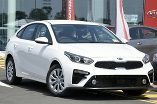2018 Kia Cerato BD MY19 S Snow White Pearl 6 Speed Manual Hatchback.