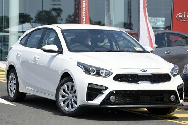 New Kia Cerato BD MY19 S, 2018 Kia Cerato BD MY19 S Snow White Pearl 6 Speed Manual Hatchback