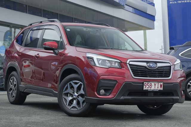Demo Subaru Forester S5 MY19 2.5i-L CVT AWD, 2018 Subaru Forester S5 MY19 2.5i-L CVT AWD Crimson Red 7 Speed Constant Variable Wagon