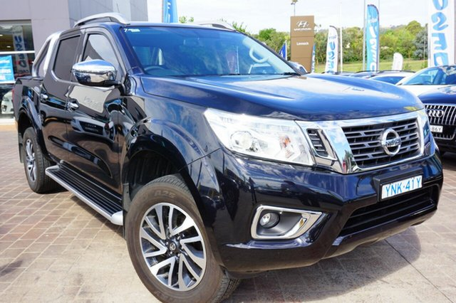 Used Nissan Navara D23 S3 ST-X, 2018 Nissan Navara D23 S3 ST-X Black 6 Speed Manual Utility