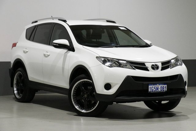 Used Toyota RAV4 ZSA42R GX (2WD), 2014 Toyota RAV4 ZSA42R GX (2WD) White Continuous Variable Wagon