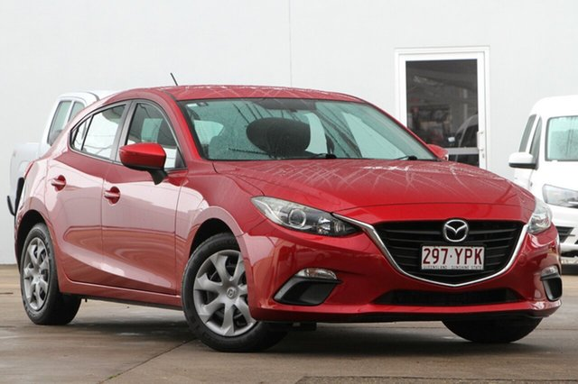 Used Mazda 3 BM5476 Neo SKYACTIV-MT, 2014 Mazda 3 BM5476 Neo SKYACTIV-MT Red 6 Speed Manual Hatchback