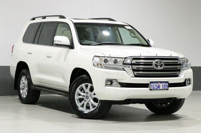 Used Toyota Landcruiser VDJ200R MY19 LC200 VX (4x4), 2018 Toyota Landcruiser VDJ200R MY19 LC200 VX (4x4) White 6 Speed Automatic Wagon