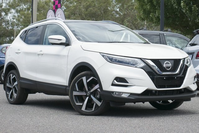 Used Nissan Qashqai J11 Series 2 N-TEC X-tronic, 2018 Nissan Qashqai J11 Series 2 N-TEC X-tronic White 1 Speed Constant Variable Wagon