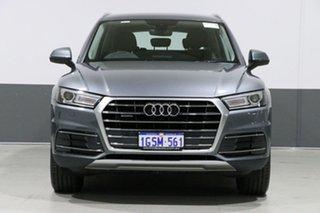 2017 Audi Q5 FY MY17 2.0 TDI Quattro Design Monsoon Grey 7 Speed Auto S-Tronic Wagon.
