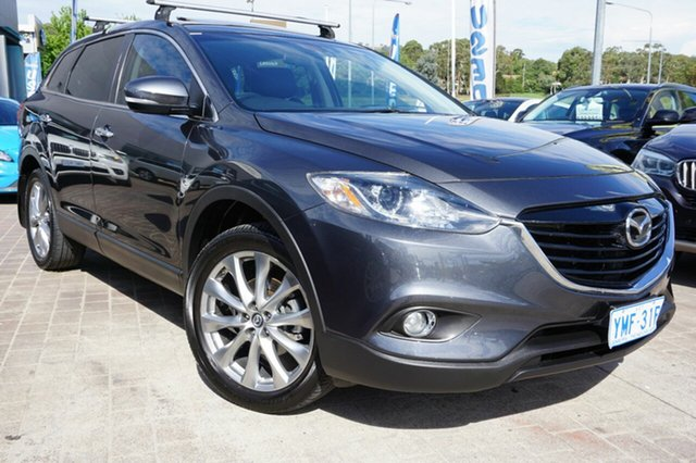 Used Mazda CX-9 TB10A5 Luxury Activematic, 2014 Mazda CX-9 TB10A5 Luxury Activematic Grey 6 Speed Sports Automatic Wagon