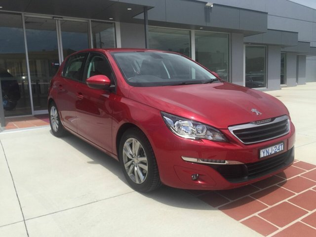 Used Peugeot 308 T9 Active, 2016 Peugeot 308 T9 Active Red 6 Speed Automatic Hatchback