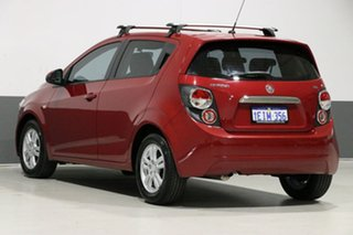 2013 Holden Barina TM MY14 CD Red 6 Speed Automatic Hatchback
