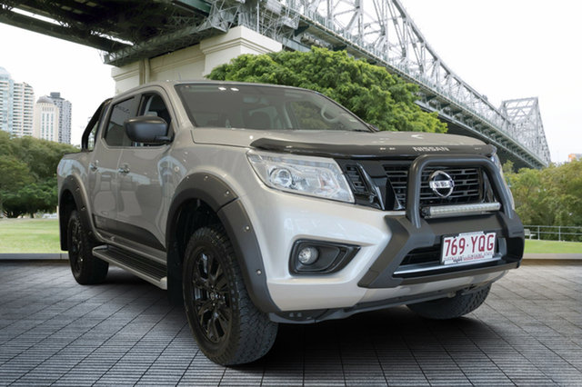Demo Nissan Navara D23 S3 ST Black Edition, 2018 Nissan Navara D23 S3 ST Black Edition Brilliant Silver 7 Speed Sports Automatic Utility