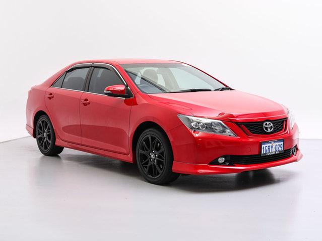 Used Toyota Aurion GSV50R MY15 Sportivo, 2016 Toyota Aurion GSV50R MY15 Sportivo Red 6 Speed Automatic Sedan