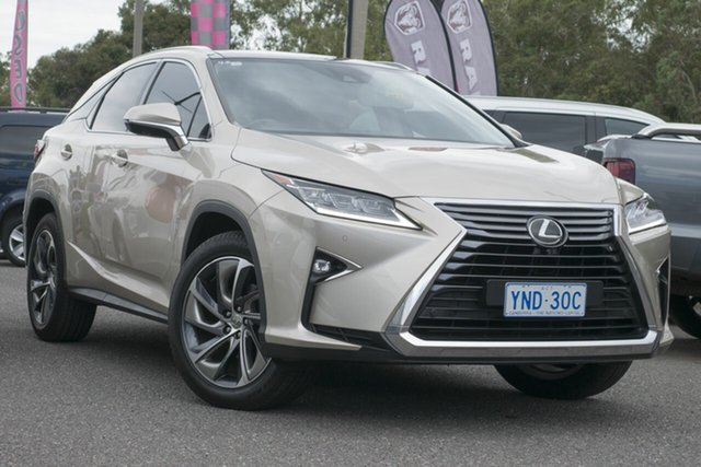Used Lexus RX350 GGL25R Sports Luxury, 2016 Lexus RX350 GGL25R Sports Luxury Beige 8 Speed Sports Automatic Wagon