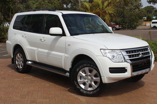 Used Mitsubishi Pajero NW MY14 GLX, 2014 Mitsubishi Pajero NW MY14 GLX White 5 Speed Sports Automatic Wagon