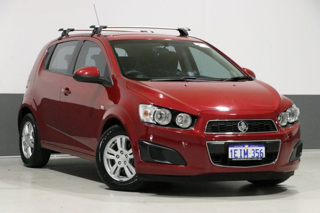 Used Holden Barina TM MY14 CD, 2013 Holden Barina TM MY14 CD Red 6 Speed Automatic Hatchback