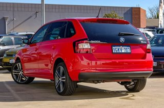 2017 Skoda Rapid NH MY17 Spaceback DSG Corrida Red 7 Speed Sports Automatic Dual Clutch Hatchback.