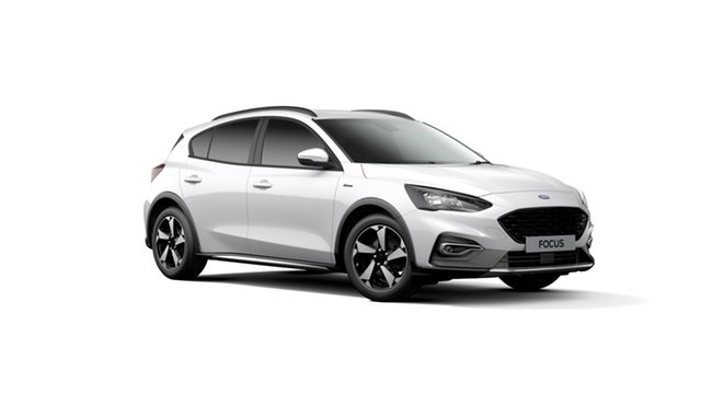 New Ford Focus SA 2019.25MY Active, 2019 Ford Focus SA 2019.25MY Active Frozen White 8 Speed Automatic Hatchback