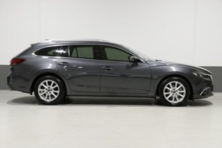 2015 Mazda 6 6C MY14 Upgrade Touring Grey 6 Speed Automatic Wagon