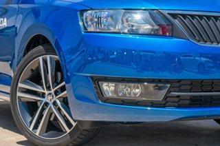 2017 Skoda Rapid NH MY17 Spaceback DSG Race Blue 7 Speed Sports Automatic Dual Clutch Hatchback