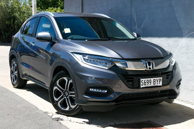 Demo Honda HR-V MY18 VTI-LX, 2018 Honda HR-V MY18 VTI-LX Modern Steel 1 Speed Constant Variable Hatchback
