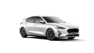 2018 Ford Focus SA 2019MY Titanium Frozen White 8 Speed Automatic Hatchback