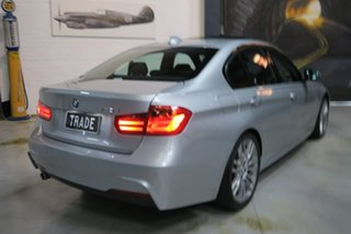 2014 BMW 320d F30 MY1114 M Sport Silver 8 Speed Sports Automatic Sedan