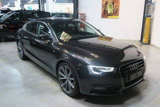 2012 Audi A5 8T MY13 Sportback S tronic quattro Grey 7 Speed Sports Automatic Dual Clutch Hatchback.