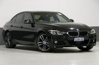 2018 BMW 330i F30 LCI MY18 M Sport Black Sapphire 8 Speed Automatic Sedan.