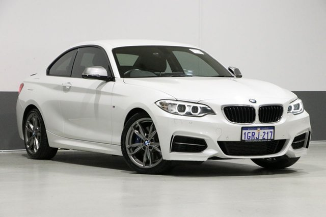 Used BMW M235i F22 MY15 , 2015 BMW M235i F22 MY15 Mineral White 8 Speed Automatic Coupe