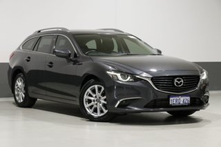 2015 Mazda 6 6C MY14 Upgrade Touring Grey 6 Speed Automatic Wagon.